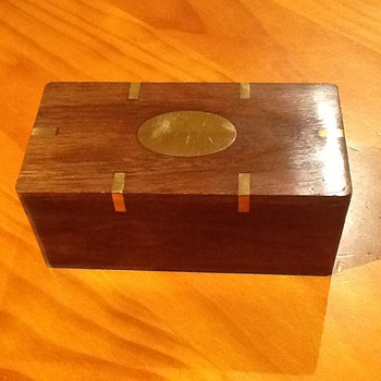 Trinket Box with Hidden Drawer