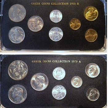 Greek Coins - uncirculated - World Coins