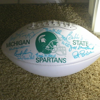 Michigan State signed coach football - Football