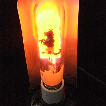 Birdseye electric co. glow bulb - Lamps