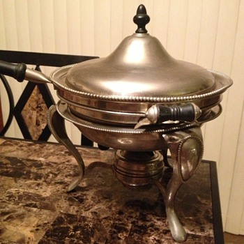S. Sternau &amp; Co chafing dish - Kitchen