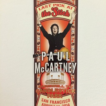 Paul McCartney-Candlestick Park-2014