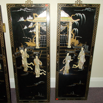 donated doors in Chinese style decoration