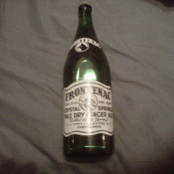 Frontenac Ginger Ale Bottle Unopened