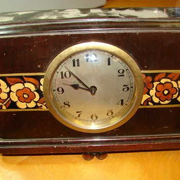 Herman Miller Art Deco Clock Model #732, 1920 - 1930 - Art Deco