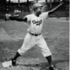one of a kind  signed Jackie Robinson b/w  photo from rookie years 7 by 9