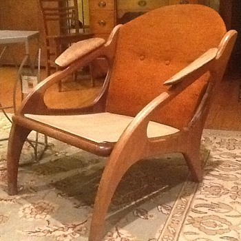 Help!  Rescued this pair of teak chairs..... - Furniture