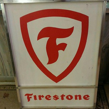 Firestone sign - Signs
