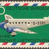 "1969 - West Germany ""Air Mail Service"" Postage Stamps"