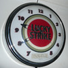 Lucky Strike Light Up Clock