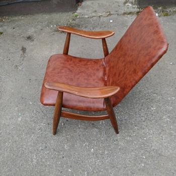 Teak MCM armchair