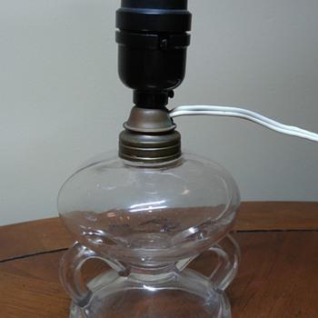 2 Fingerhole oil lamp