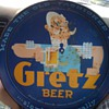 william gretz brewing serving tray