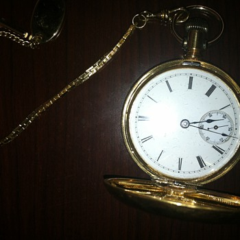 Illinois Watch CO. pocket watch - Pocket Watches