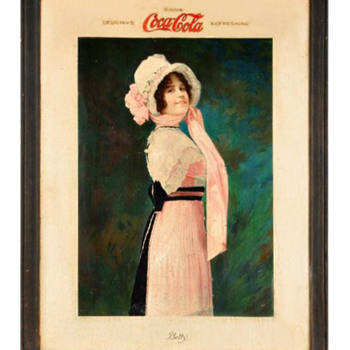 1914 Betty Sign - Coca-Cola