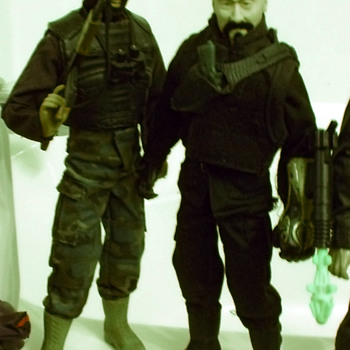 Custom Kitbash G.I.Joe Villain Baron Black...