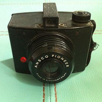 Ansco Pioneer camera.