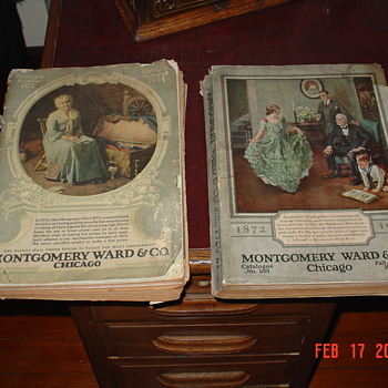 1925 and 1926 Montgomery Ward &amp; Co. Catalogs - Books
