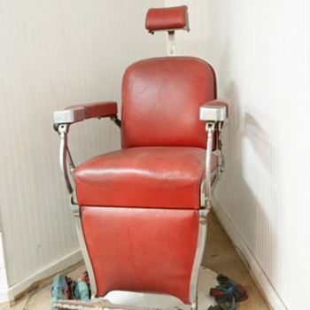 Shave & haircut, two bits: Barber Shop Chair