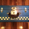 (Malle) Benard French Trunk 1920's or 30's 1/4 size cabin