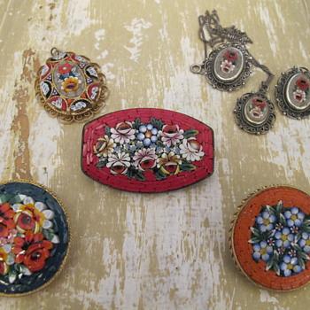 Italian Micro Mosaics - Fine Jewelry