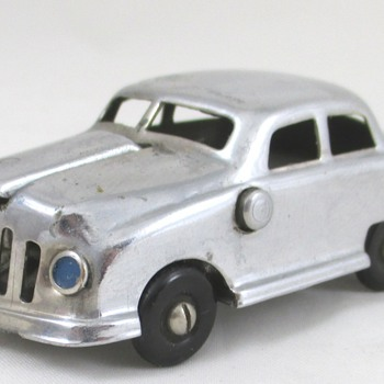 1950's Chrome Automobile Lighter - Tobacciana