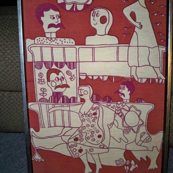 ANY ONE KNOW ANYTHING ABOUT THIS  ART & ARTIST........... - Posters and Prints