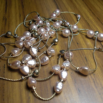unknown pearl necklace
