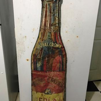RC Cola Vintage Sign