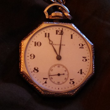 Silver Watham Pocket Watch