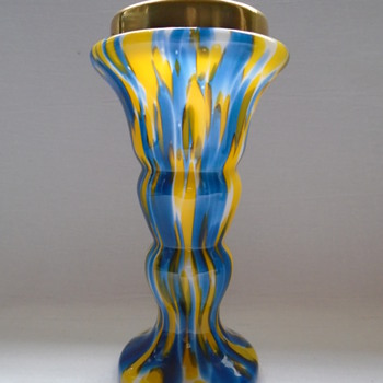 Czech Art Deco Welz Vases