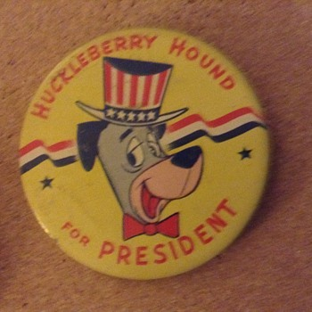 President pinback buttons - Medals Pins and Badges