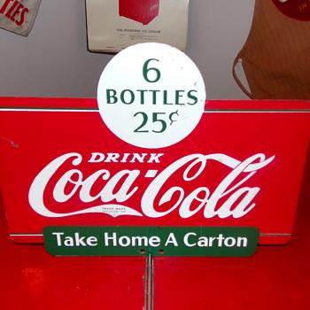 1937 Coca-Cola Display Rack Sign - Coca-Cola