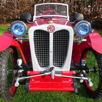Hand-Built MG TC Pedal Car - Model Cars