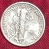 1923 Mercury Dime