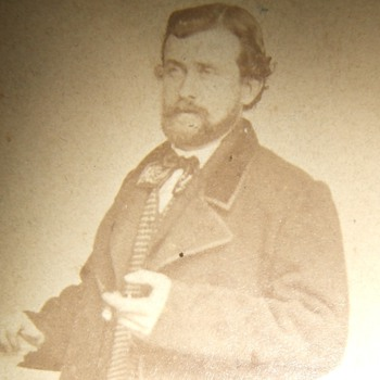 RARE Unpublished CDV of General US Grant (NOT Really)