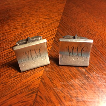 Unlike the rest of my cufflink collection, these are actually worth something... - Accessories