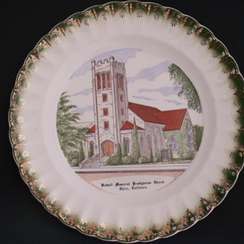 Church Plate, Chico, California - China and Dinnerware