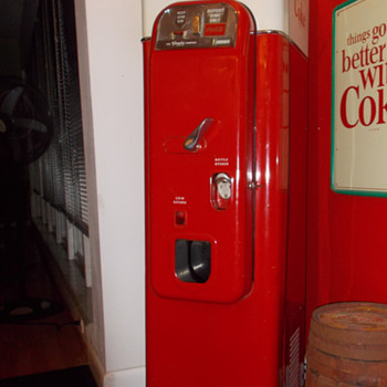 Coca-Cola Vendo 44: the Creme de la Creme of vending machines