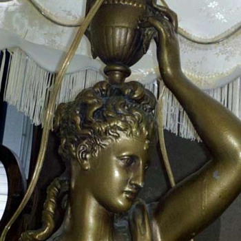 Antique Mystery Lamp