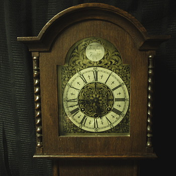 "Grand father Clock""Salesman??""""Late XIX Century - Clocks"