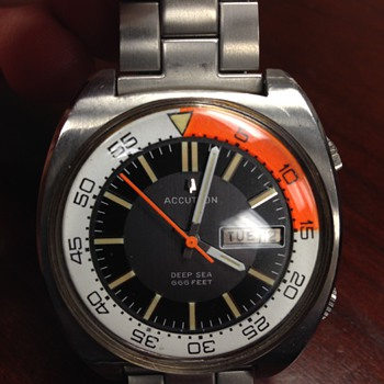 Bulova Accutron Diving watch! - Wristwatches