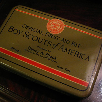 Boy Scouts First Aid Kit - Outdoor Sports