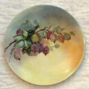 J&amp;C Jaeger Bavarian China Plate - circa 1902 - China and Dinnerware