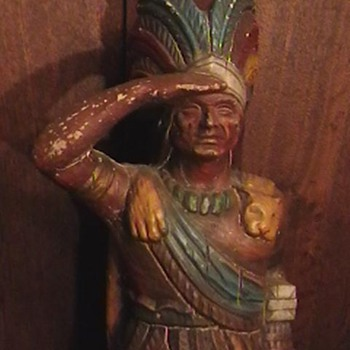 Cigar Store Indian Made by ALFCO-NY