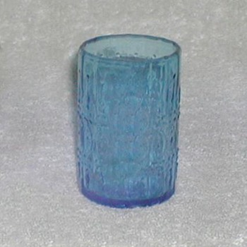 Wheaton Blue Glass - Glassware