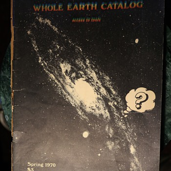 Spring 1970 Issue of the Whole Earth Catalog - Paper