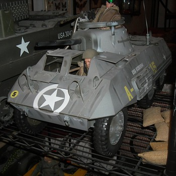 GI Joe M8 Greyhound Light Armored Vehicle
