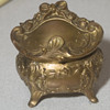 Antique Jewelry Casket, Art Nouveau, Victorian-Edwardia 1900-1910
