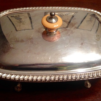 Tiffany silver butter dish?